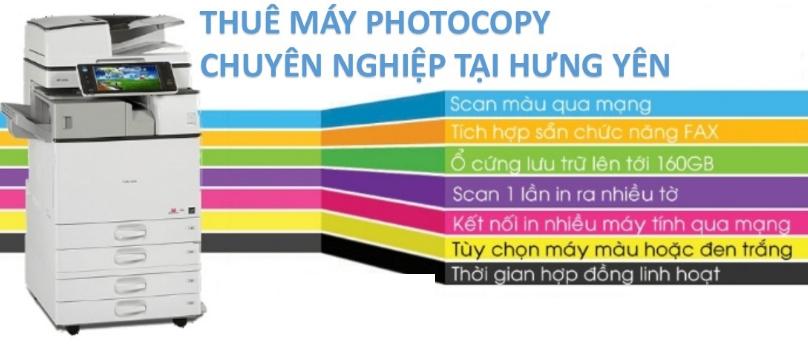 cho thuê máy photocopy tại Hưng Yên